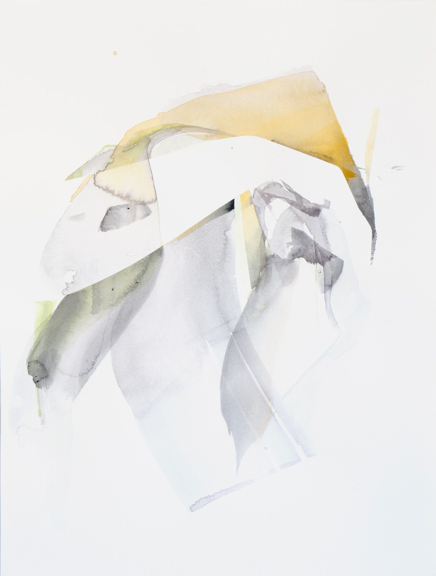 Natascha Schmitten - Untitled, 2018, watercolor on paper, 40 x 30 cm